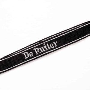SS cuff title De Ruiter