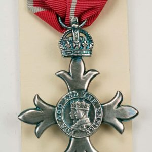 Medal of the British Empire MBE