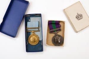British Women medals HOWARD