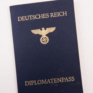 Deutsches Reich Dipolmatenpass Third Reich