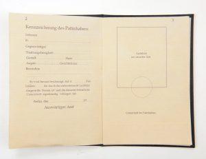 Third Reich Dipolmatenpass