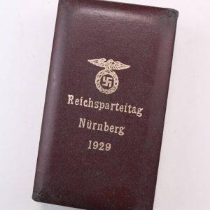 1929 Nuremburg rally badge