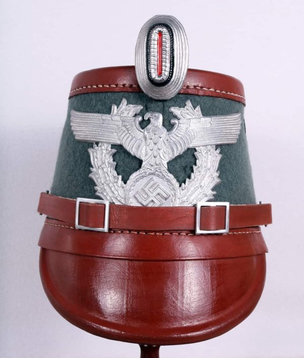 WW2 German helmet police shacko