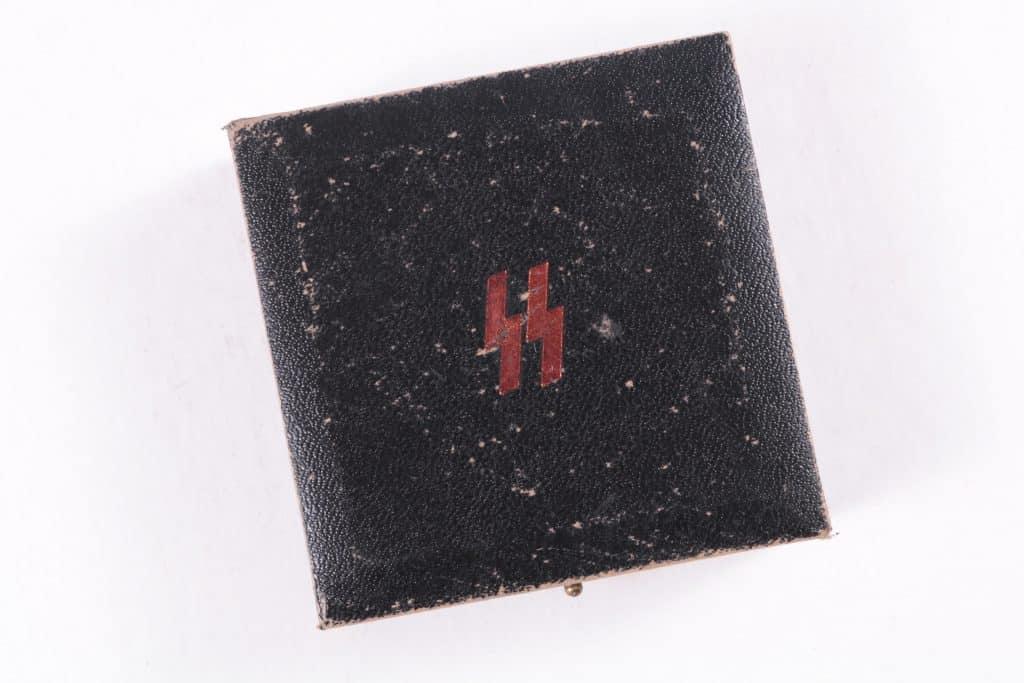 WW2 German SS Sports Badge Presentation Case for Bronze Award Original