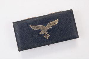 German badges Luftwaffe spang case
