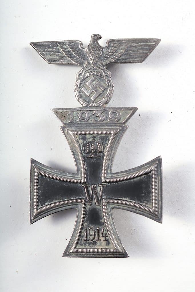 WW2 GERMAN EK1 1914 IRON CROSS with 1939 SPANG combo