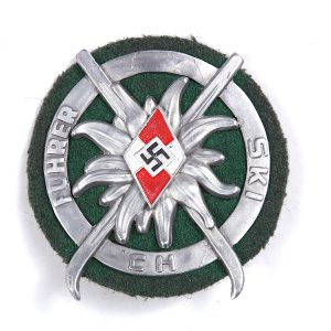WW2 HJ Ski badge