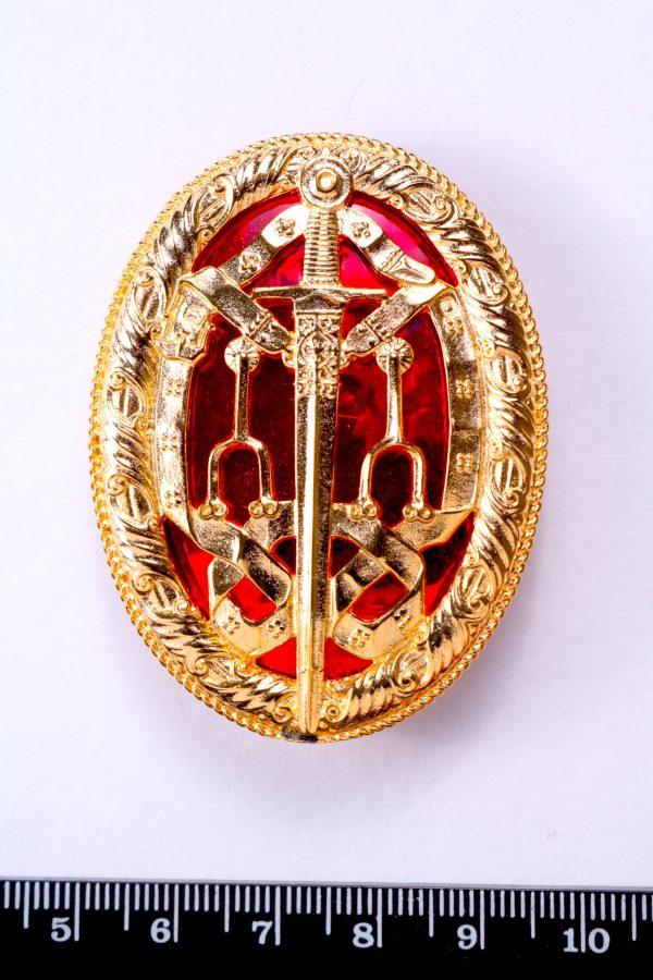 KB knight bachelors breast badge gilt enamelled