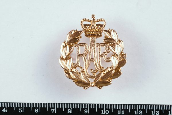 Royal Air Force RAF stay bright cap badge