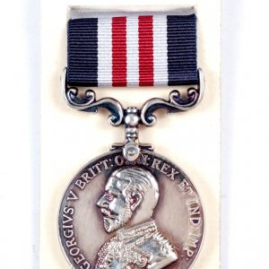 GVR military medal for bravery in the field