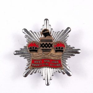 West Midlands fire service badge