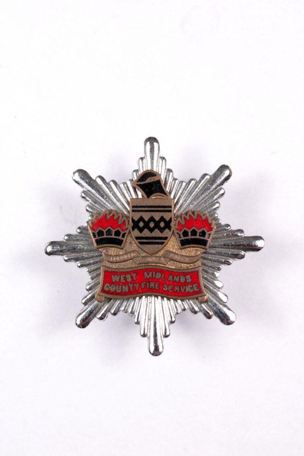 West Midlands fire service badge