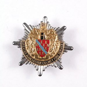 Greater Manchester fire brigade badge
