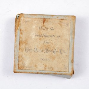 Kings Norton metal co 1901