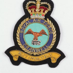 Raf college cranwell blazer badge