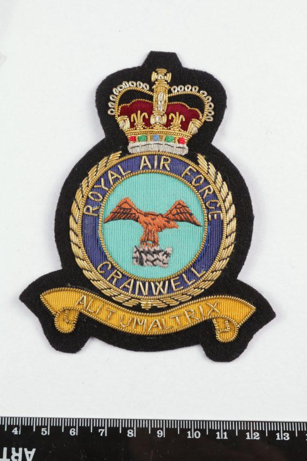 Raf college cranwell blazer badge