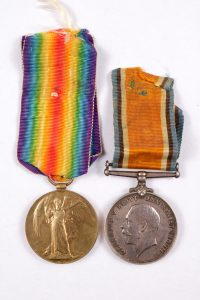 WW1 British medals GLEW Coldstream guards