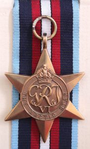 British medal Arctic Star