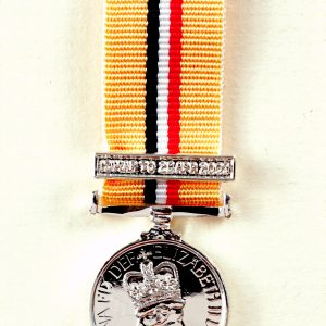 Iraq Service medal 19 march 28 April bar