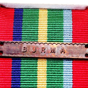 Burma clasp Pacific star bar