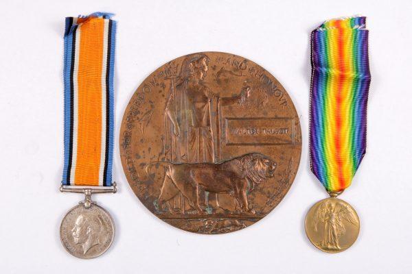 WW1 British medals TALBOT