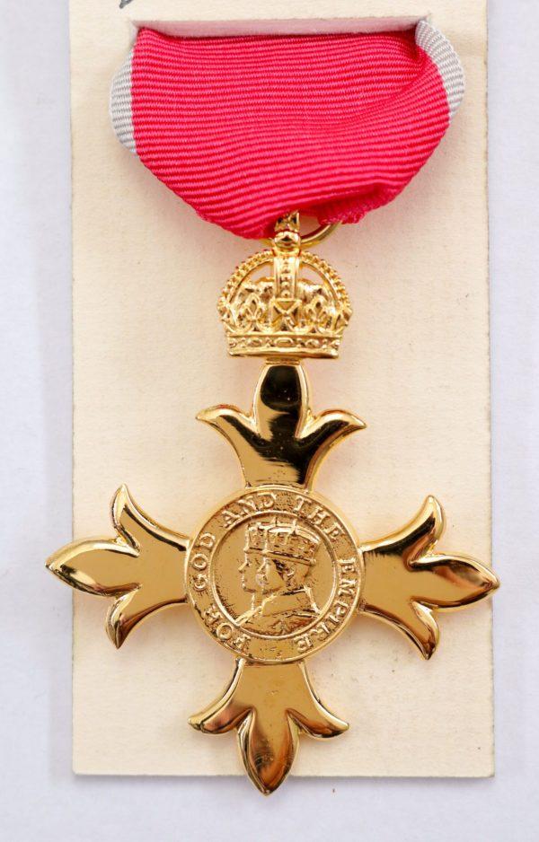 OBE order of the British Empire