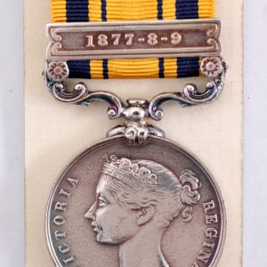 South Africa medal 1877 8 9