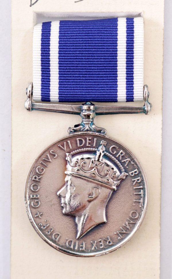 GVI police long service medal