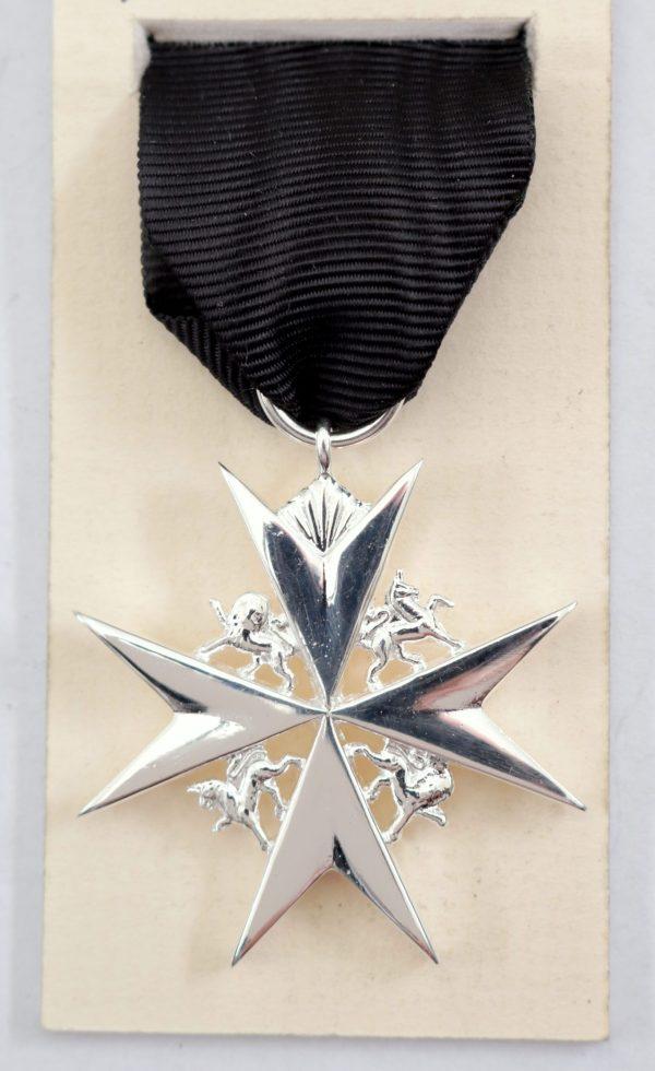 St John type 6 medal