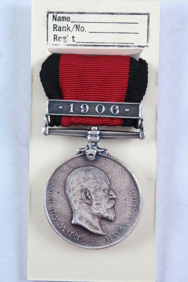 Natal 1906 medal