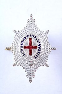 Coldstream guards cap badge officers