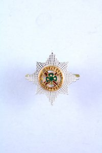 Irish guards officers cap badge