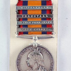 Queens South Africa medal