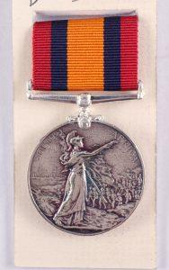 Queens South Africa medal Boer war