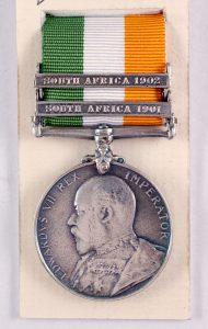 Kings South Africa medal boer war