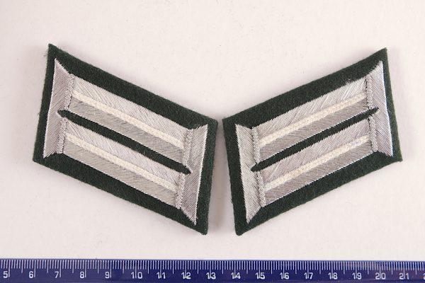 WW2 GERMAN INFANTRY OFFICERS rank insignia