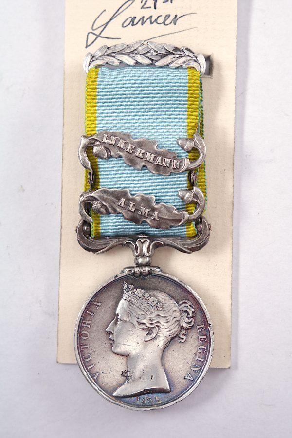 Crimea Medal Inkermann alma