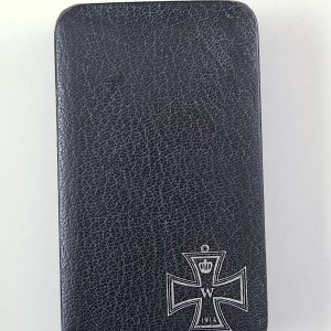 1914 Iron cross case