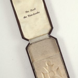 WW1 German EK2 medal case