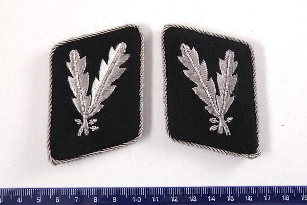 Pre 1942 German collar tabs gorget rank
