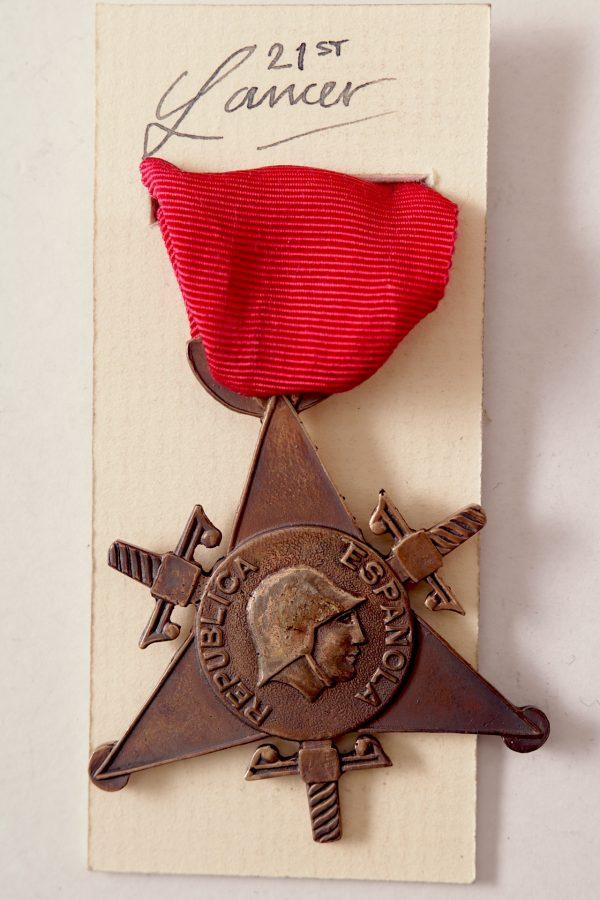 Spanish republic medal