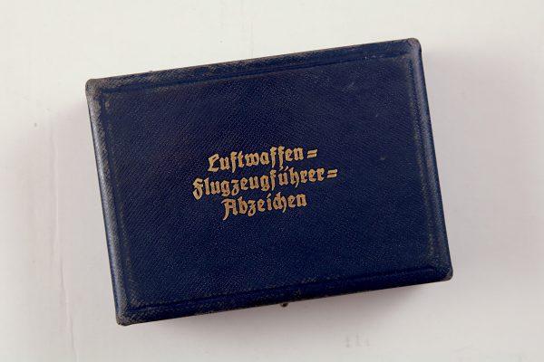 Luftwaffe badge case