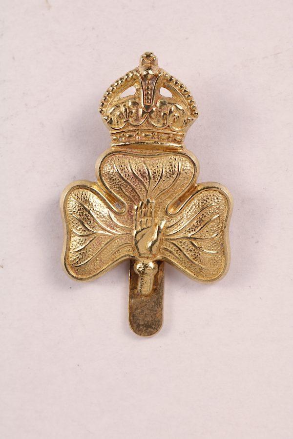 Irish cap badge