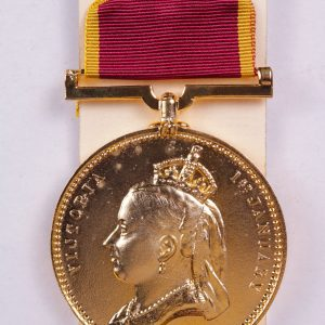 Empress of India medal gold