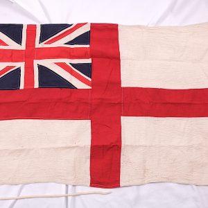 HMS Badger Royal Navy flag
