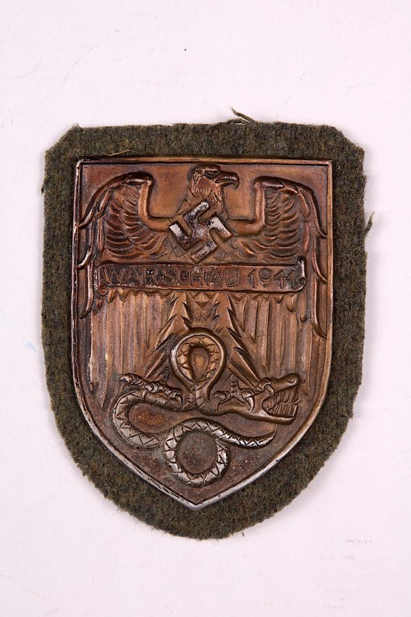 WW2 German badge Warsaw