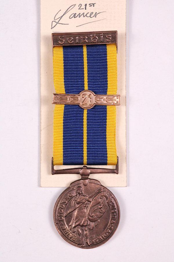 Irish army 21 year service medal