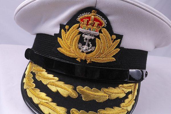 Royal Navy Admiral hat